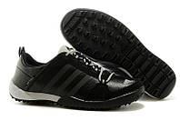 Кроссовки Adidas Daroga Two Lea Black Grey