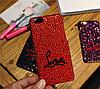 Iphone 6 / 6S / 6 Plus оригинальный чехол панель накладка  стразы камни Christian Louboutin, фото 4