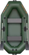 Резиновая лодка надувная гребная 240*130 см (Kolibri) К-240Т Стандарт+Бесплатная доставка