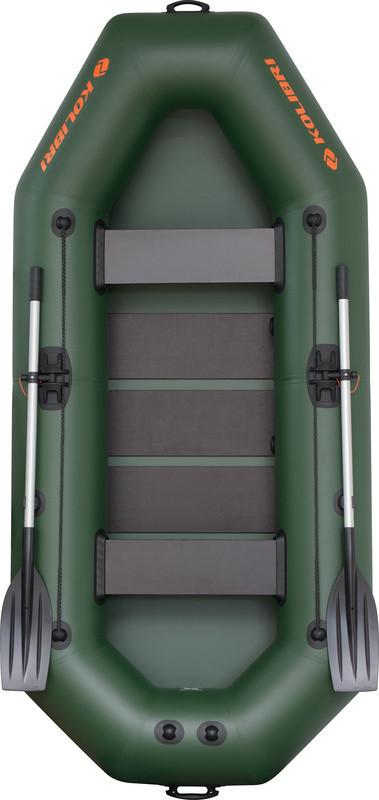 Резиновая лодка надувная двух-трехместная гребная 280*130 см Колибри (