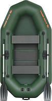 Резиновая лодка надувная двухместная гребная 248*130 см Колибри (Kolibri) К-250T Профи