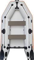 Резиновая лодка надувная моторная двухместная гребная 260*140 см Колибри (Kolibri) КМ-260 Стандарт