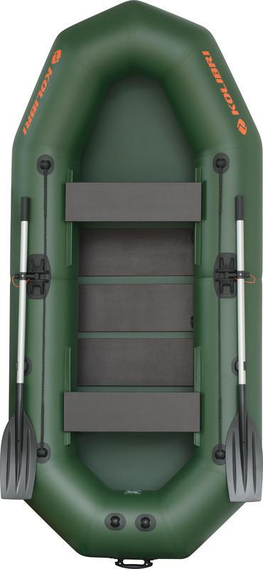 Резиновая лодка надувная двух-трехместная гребная 290*130 см Колибри (