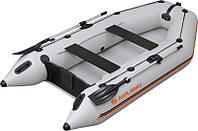 Резиновая лодка надувная моторная трех-четырехместная гребная 300*160 см Колибри (Kolibri) КМ-300 Стандарт