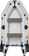Резиновая лодка надувная моторная двухместная гребная 280*148 см Колибри (Kolibri) КМ-280 Стандарт