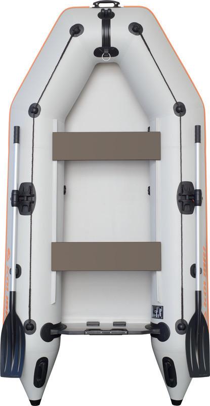 Резиновая лодка надувная моторная двухместная гребная 280*148 см Колиб