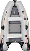 Резиновая лодка надувная моторная 2-хместная гребная 280*160 см Колибри (Kolibri) КМ-280DL Лайт