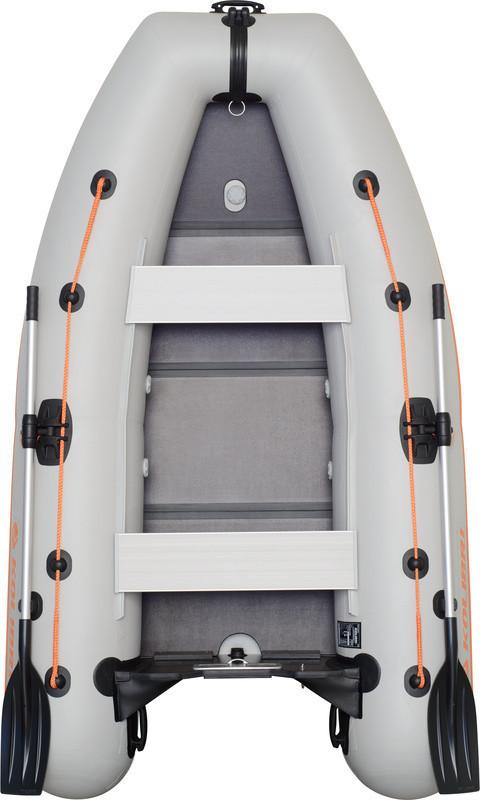 Резиновая лодка надувная моторная 2-хместная гребная 280*160 см Колибр