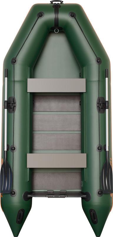 Резиновая лодка надувная моторная 4-хместная гребная 330*160 см Колибр