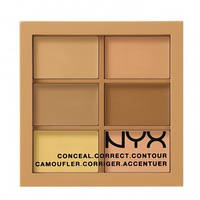Палитра консилеров NYX color correcting palette 3CP02