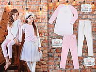 Розовые брюки для девочки ТМ МОНЕ р-р 110,134