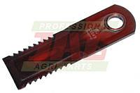 Подвижный нож измельчителя комбайна Claas - 175х50х4мм Rasspe Germany