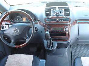 Накладки на панель Mercedes Vito W639 (2003-2015)