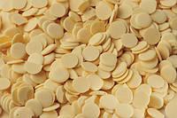 Шоколадная глазурь монеты белые