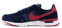 Мужские модные кроссовки Nike Archive'83 Navy Red Найк синие
