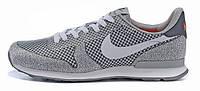 Мужские модные кроссовки Nike Internationalist Grey Найк серые