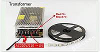 Блок живлення імпульсний 12В 5А CCTV LED SMD 3528