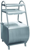 Прилавок для столовых приборов Abat ПСПХ-70М с хлебницей