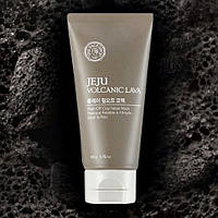 Маска-пленка от черных точек The Face Shop Jeju Volcanic Lava Peel-off Clay Nose Mask