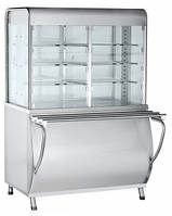 Прилавок-витрина тепловая Abat ПВТ-70М