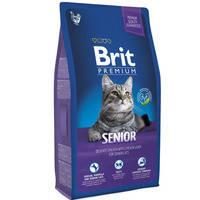 Сухой корм Brit Premium Cat Senior для котов 8 кг.