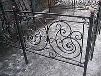 Оградка на кладбище кованая арт.рт 6, фото 1