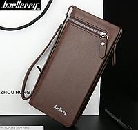 Клатч портмоне мужской Baellerry W003brown
