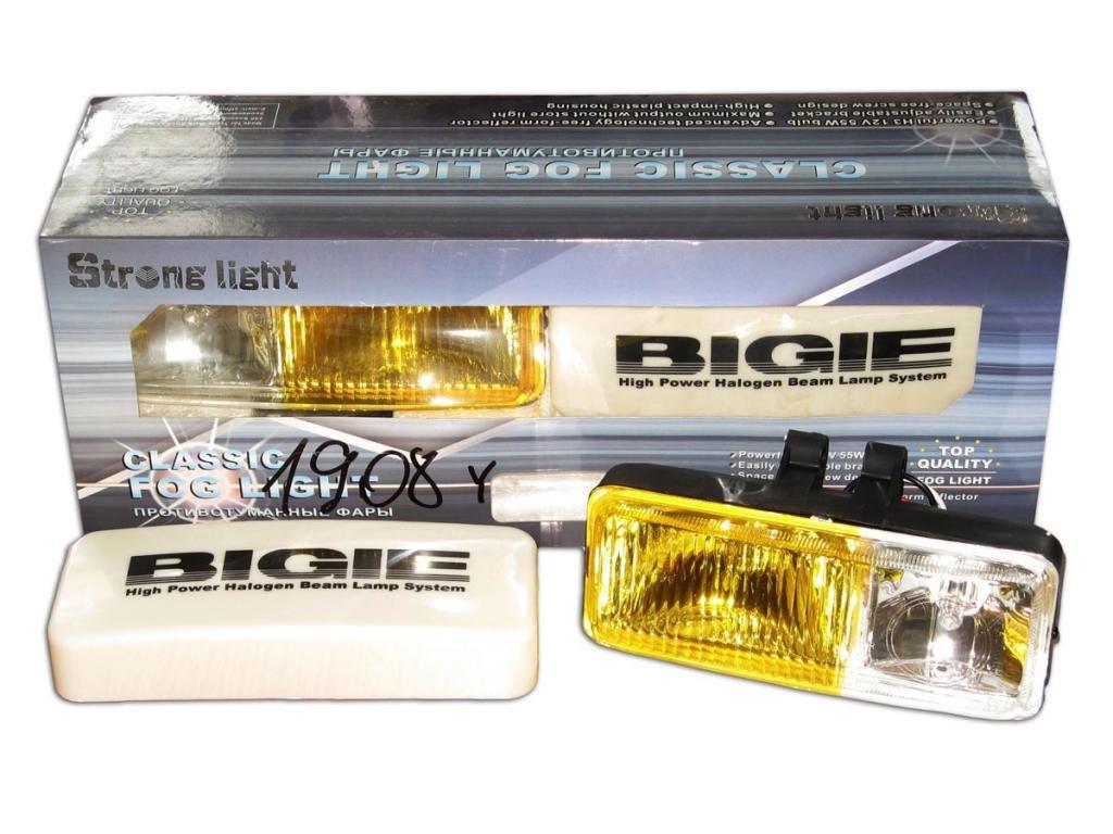 Дополнительные фары противотуманные STRONG LIGHT SL-1908 W/Y 2х55W 185x75 80 крышка пара