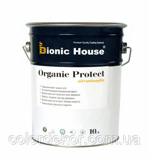 Защитная пропитка - антисептик для древесины ORGANIC PROTECT OIL BIONIC-HOUSE 10л - COLORDEKOR - Максимум эффекта при минимуме средств! в Днепре