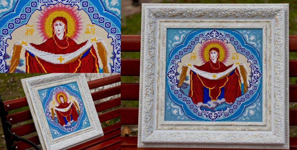 Богородица Покрова 35 х 35 см