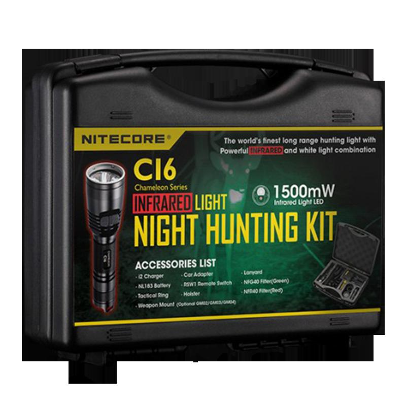 Набор для ночной охоты Nitecore CI6, 440 люмен, 190 метров, 1х18650