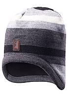Зимняя шапка для мальчика Reima 528486-9400. Размер  50. , фото 1