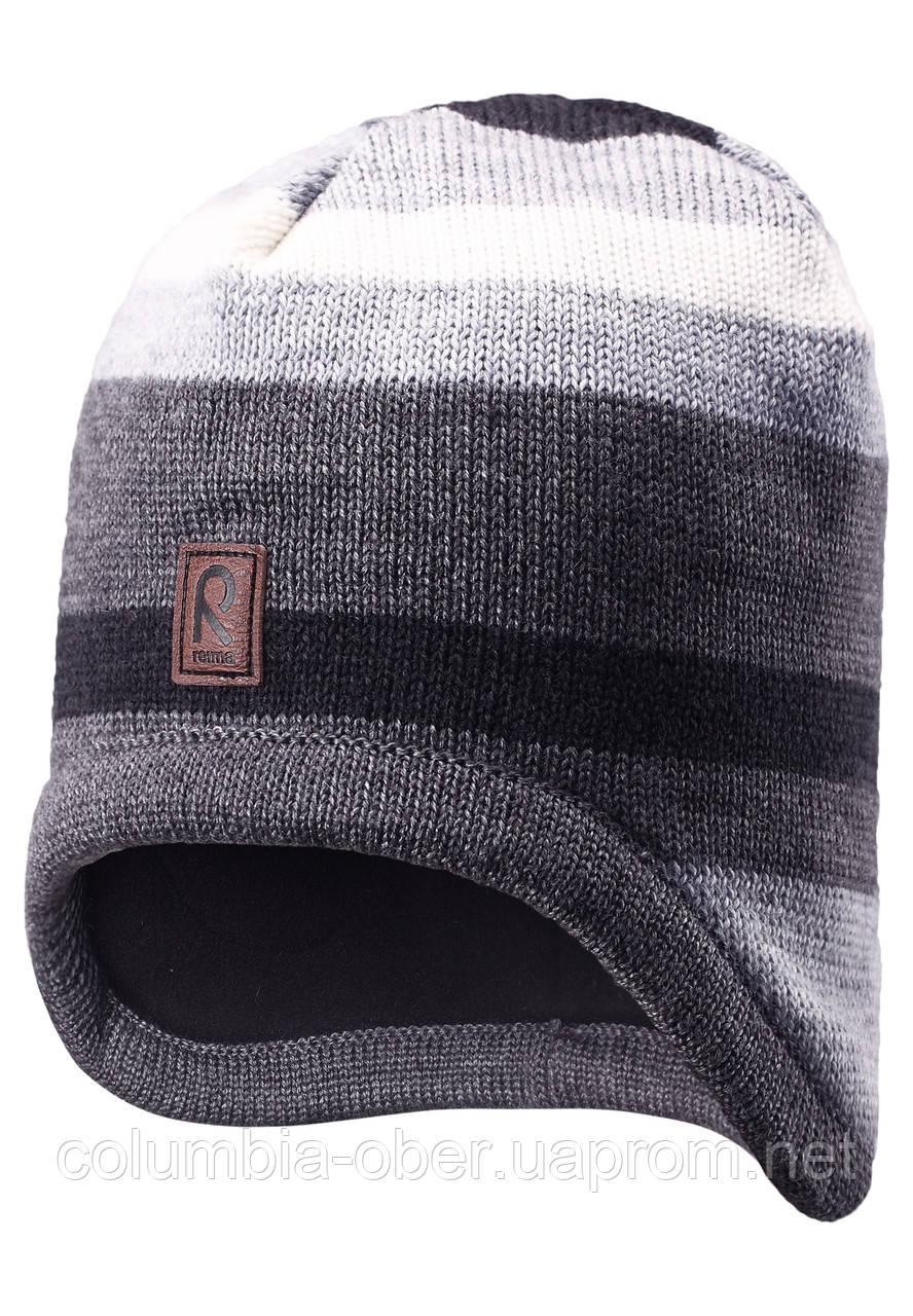 Зимняя шапка для мальчика Reima 528486-9400. Размер  50.