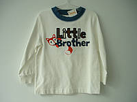 "Батник (водолазка) ""Little brother"" Gymboree"