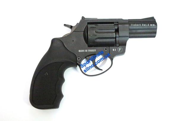 "Револьвер Trooper 2.5"" цинк мат/чёрн пласт/чёрн"
