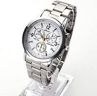 Мужские наручные часы Geneva Silver White
