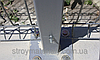 Столб оцинкованный на анкерное крепление 58х38х1.5мм 2.3м