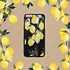 """Iphone 7 / 7 PLUS кожаный чехол панель накладка НАТУРАЛЬНАЯ КОЖА лимоны, розы, листья  Dolce & Gabbana """", фото 4"""