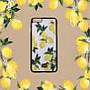"""Iphone 7 / 7 PLUS кожаный чехол панель накладка НАТУРАЛЬНАЯ КОЖА лимоны, розы, листья  Dolce & Gabbana """", фото 5"""