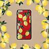 """Iphone 7 / 7 PLUS кожаный чехол панель накладка НАТУРАЛЬНАЯ КОЖА лимоны, розы, листья  Dolce & Gabbana """", фото 6"""