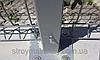 Столб оцинкованный на анкерное крепление 58х38х1.5мм 2.5м