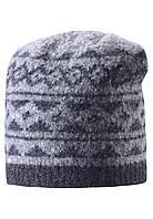 Шерстяная шапка для мальчика Reima 528487-9400. Размер 54 и 56. , фото 1
