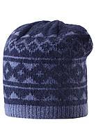 Вязанная шапка для мальчика Reima 528487-6980. Размер  52-56. , фото 1