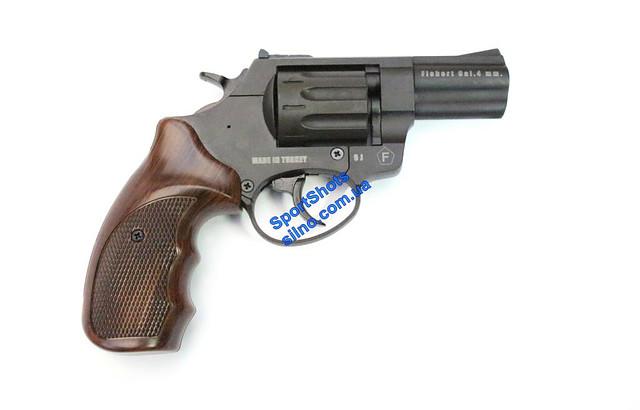 "Револьвер Trooper 2.5"" цинк мат/чёрн пласт/под дерево"