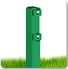 Столб в бетон 58х38х1.5мм оц+ППЛ 1.5м
