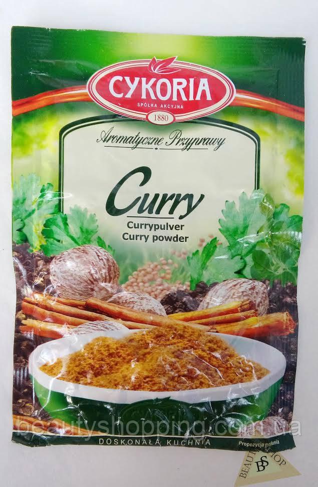 Карри молотый вкусовая приправа 25 г Cykoria Польша