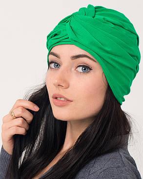Тюрбан зеленый, фото 2
