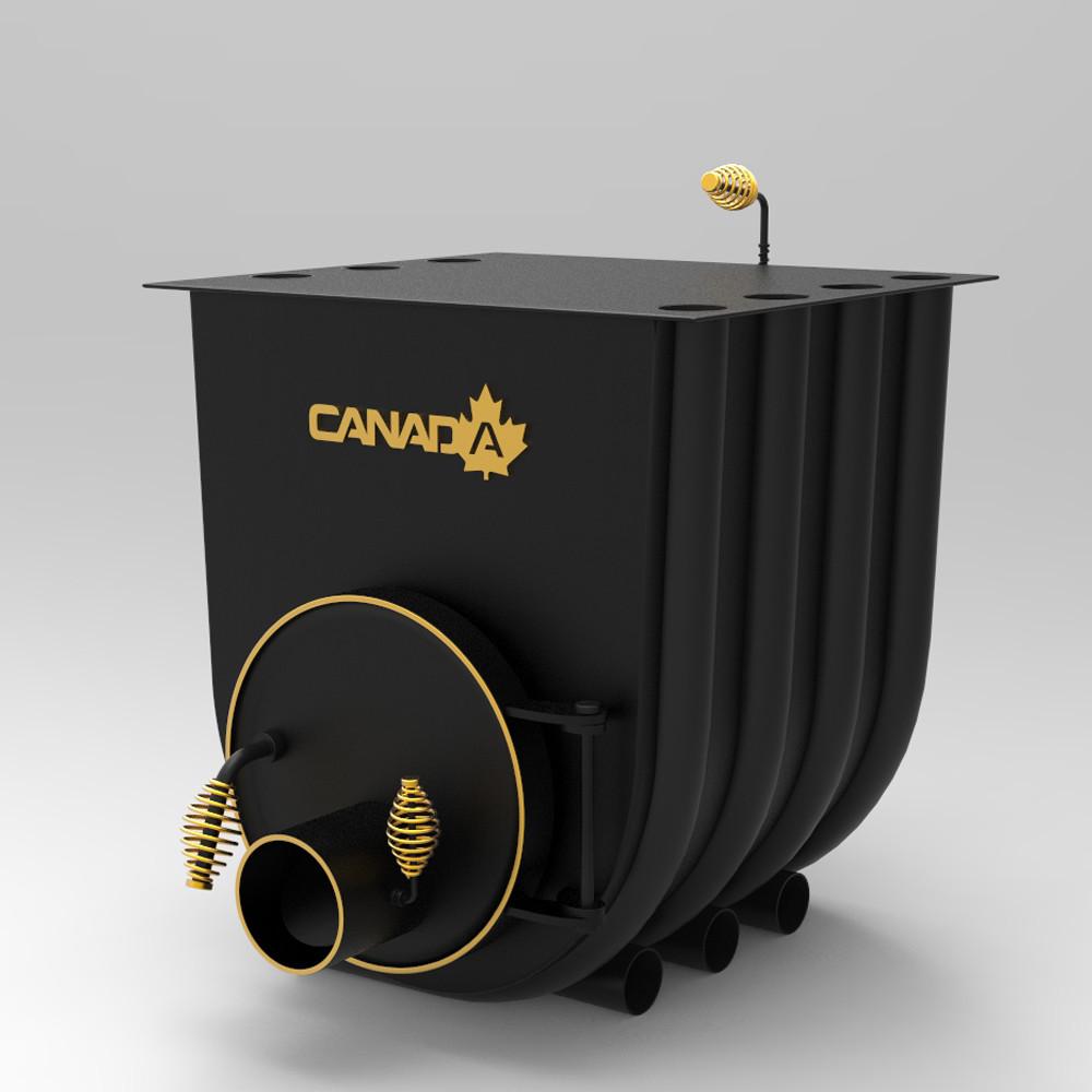 """Печь дровяная """"Canada"""" с варочной поверхностью 19 кВт"""