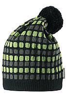 Шерстяная шапка для мальчика Reima 528489-8430. Размер 52-56.  , фото 1