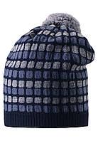 Шерстяная шапка для мальчика Reima 528489-6980. Размер  52-56. , фото 1